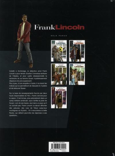 Dos Frank Lincoln tome 5 - Kusu-gun