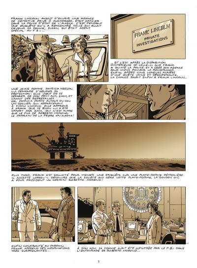Page 1 Frank Lincoln tome 5 - Kusu-gun