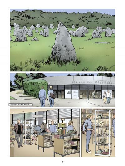 Page 1 Carnac ; coeur de pierre