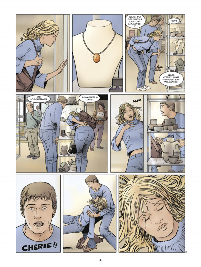 Page 2 Carnac ; coeur de pierre