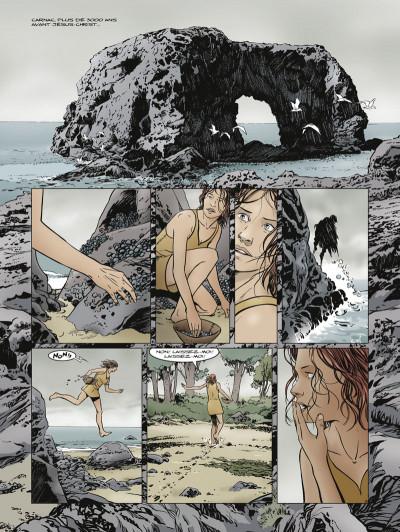 Page 3 Carnac ; coeur de pierre