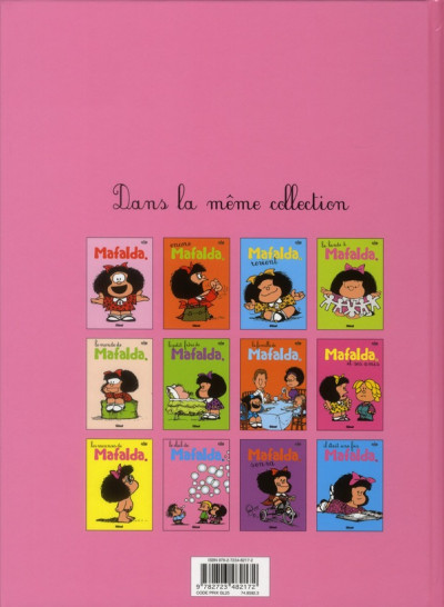 Dos Mafalda tome 10 - le club de Mafalda
