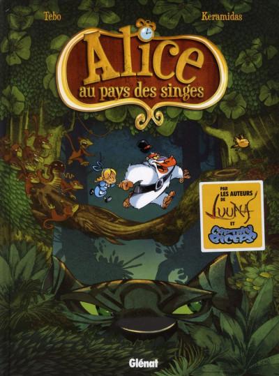 Couverture Alice au pays des singes