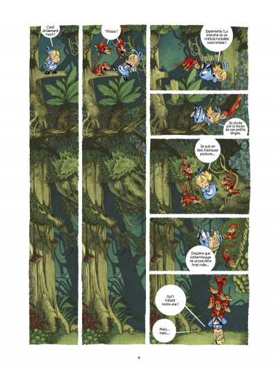 Page 2 Alice au pays des singes