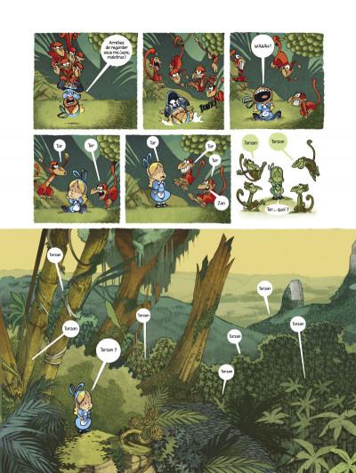 Page 3 Alice au pays des singes