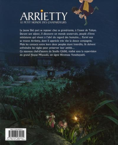 Dos Arrietty ; le petit monde des chapardeurs