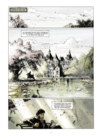 Page 1 les chroniques de Légion tome 4