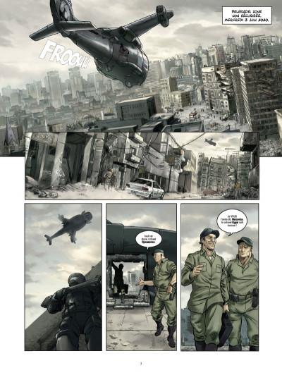 Page 1 Les Seigneurs de guerre  tome 1 - Marik
