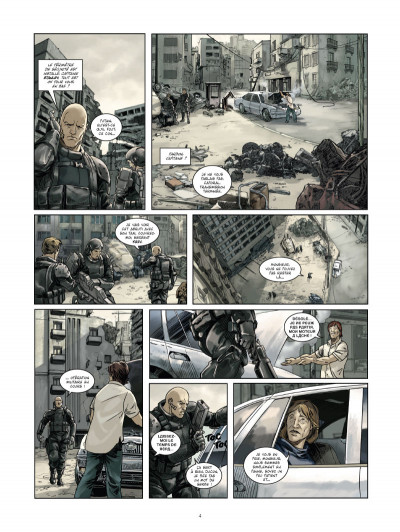 Page 2 Les Seigneurs de guerre  tome 1 - Marik