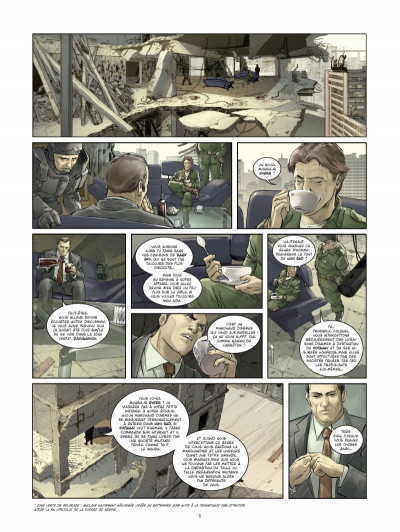 Page 4 Les Seigneurs de guerre  tome 1 - Marik