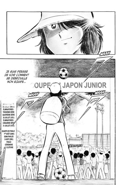 Page 9 captain Tsubasa - olive et tom tome 7