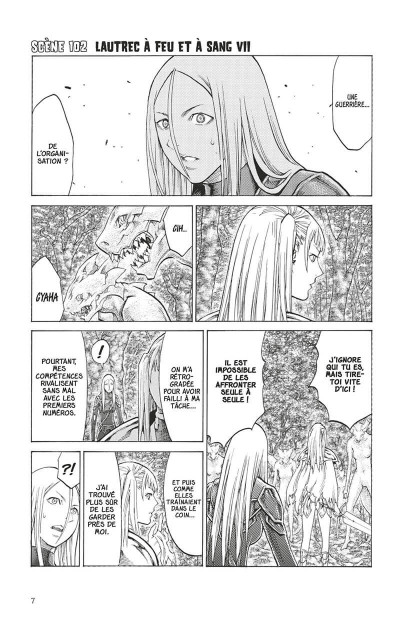 Page 5 Claymore tome 19