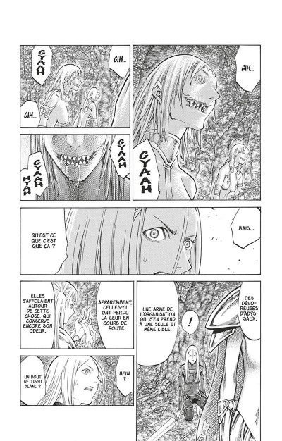 Page 8 Claymore tome 19