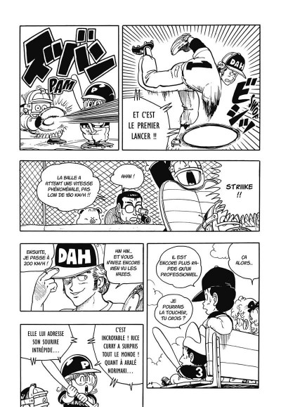 Page 8 dr Slump tome 13 - perfect édition
