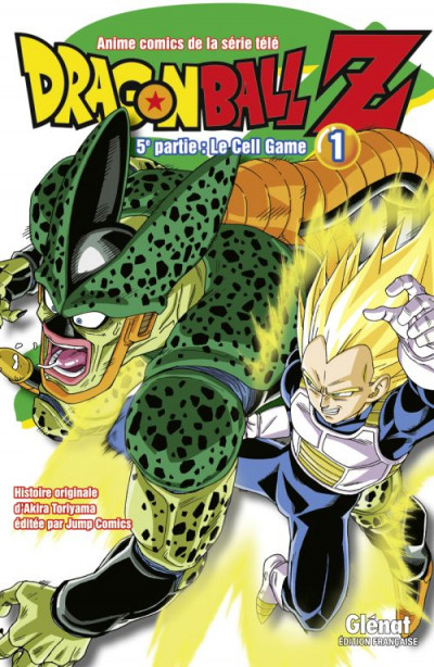 Couverture dragon ball Z - cycle 5 tome 1