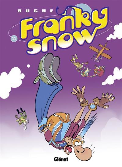 image de Franky Snow tome 11 - Franky Snow s'envoie en l'air