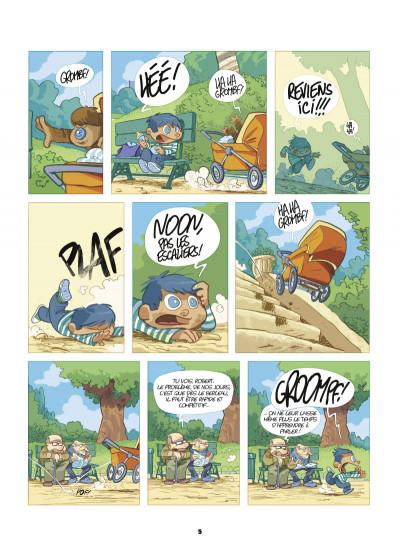 Page 3 mon ami Grompf tome 7 - Yéti Gaga