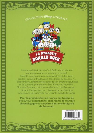Dos La dynastie Donald Duck - intégrale tome 3