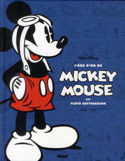 Couverture l'âge d'or de Mickey Mouse T.1 - 1936-1937 - Mickey et l'île volante et autres histoires