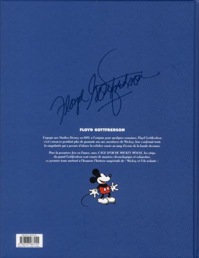 Dos l'âge d'or de Mickey Mouse T.1 - 1936-1937 - Mickey et l'île volante et autres histoires