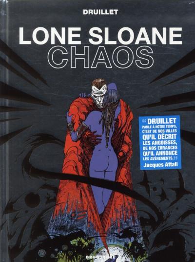 Couverture Lone Sloane ; chaos (édition 2012)