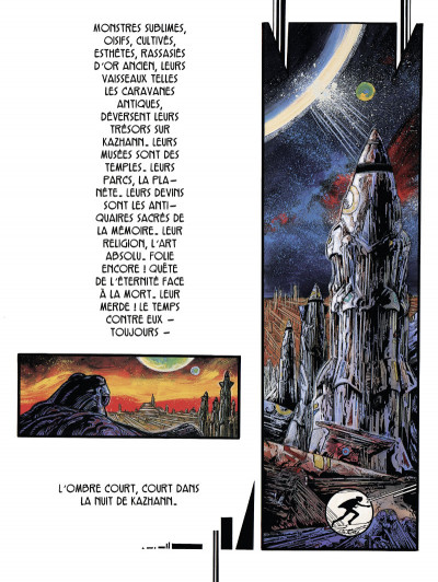 Page 2 Lone Sloane ; chaos (édition 2012)