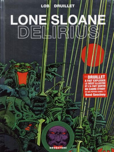 Couverture lone Sloane ; delirius (édition 2012)