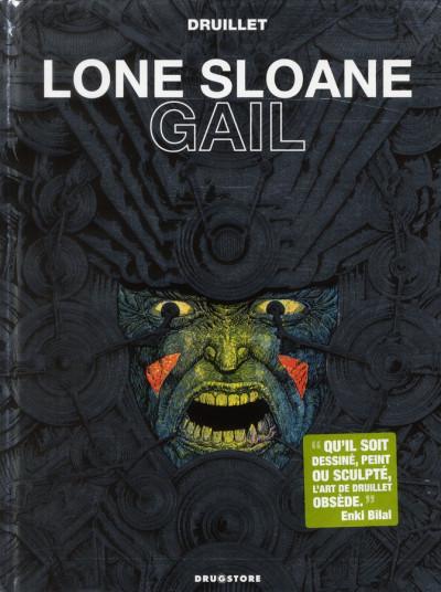 Couverture Lone Sloane ; gail (édition 2012)