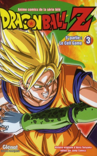 Couverture dragon ball Z - cycle 5 tome 3