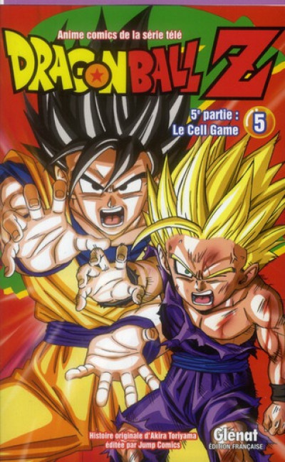 Couverture dragon ball Z - cycle 5 tome 5