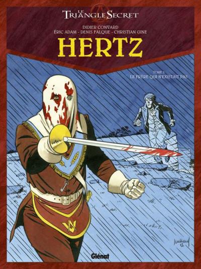 Couverture le triangle secret - Hertz tome 3 - le frère qui n'existe pas