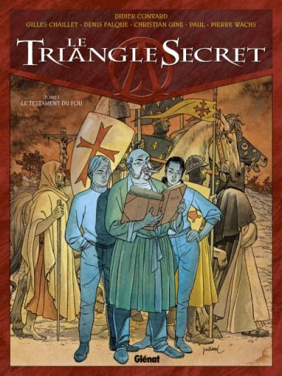 image de le triangle secret tome 1 - prix spécial - le testament du fou
