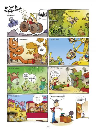 Page 4 Titeuf tome 9 - la loi du préau
