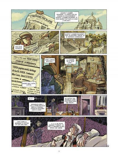 Page 1 Silas Corey tome 2 - le réseau Aquila tome 2
