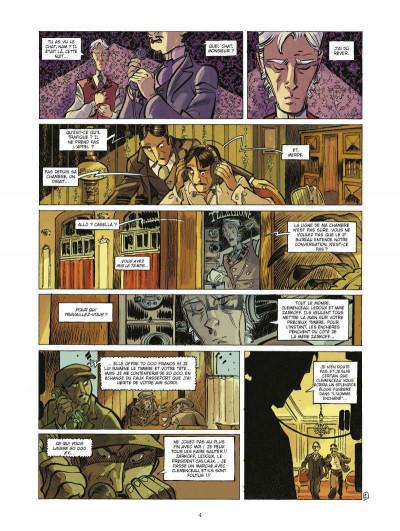 Page 2 Silas Corey tome 2 - le réseau Aquila tome 2