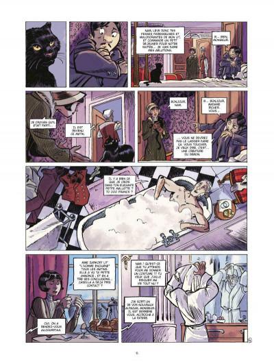 Page 4 Silas Corey tome 2 - le réseau Aquila tome 2
