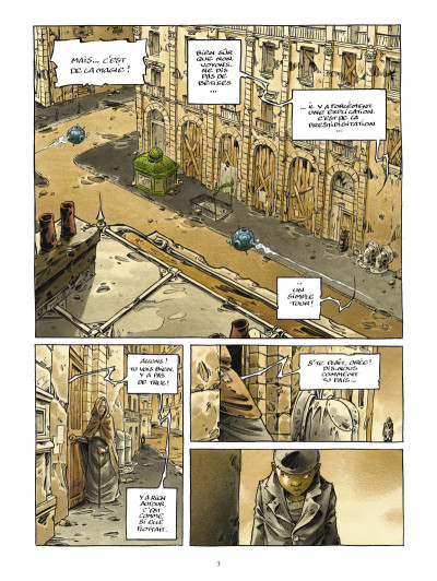 Page 1 la cité de l'arche tome 3 - lumière morte, lumière vive