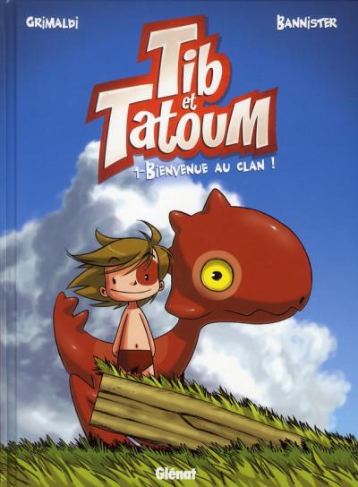 Couverture Tib et Tatoum tome 1
