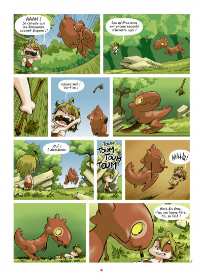 Page 2 Tib et Tatoum tome 1