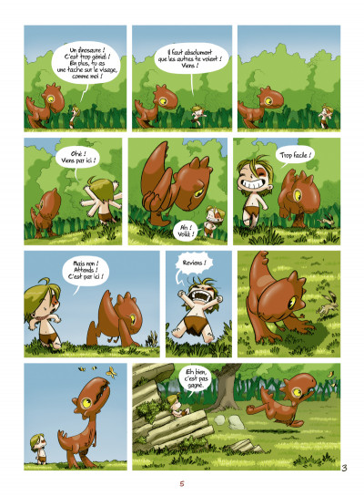 Page 3 Tib et Tatoum tome 1