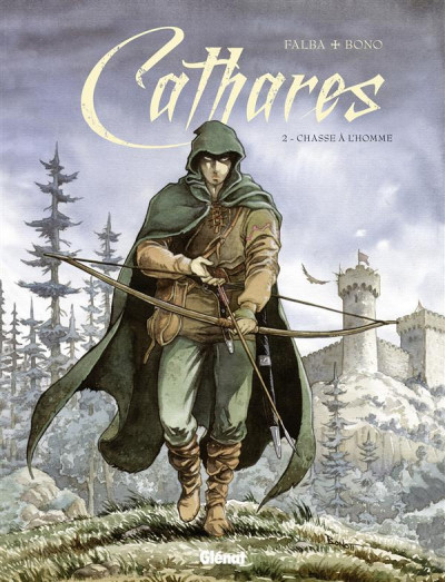 Couverture Cathares tome 2 - chasse à l'homme