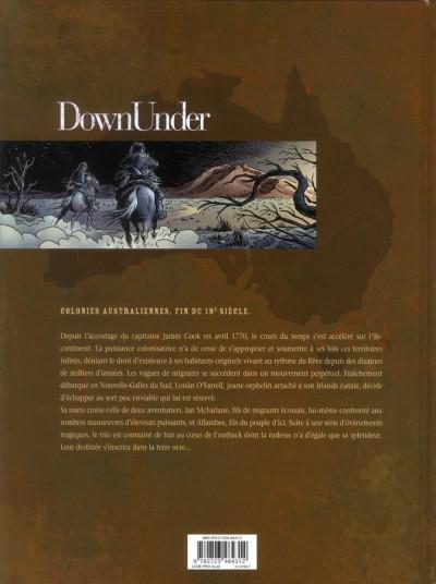 Dos down under tome 1 - l'homme de Kenzies's river