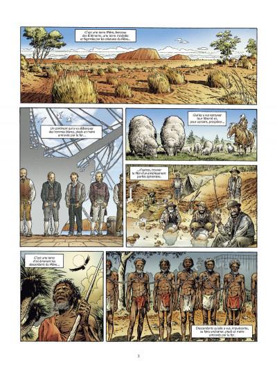 Page 1 down under tome 1 - l'homme de Kenzies's river