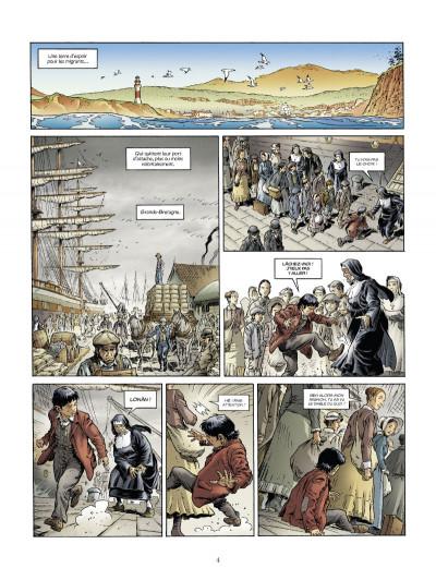 Page 2 down under tome 1 - l'homme de Kenzies's river