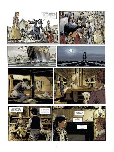 Page 3 down under tome 1 - l'homme de Kenzies's river