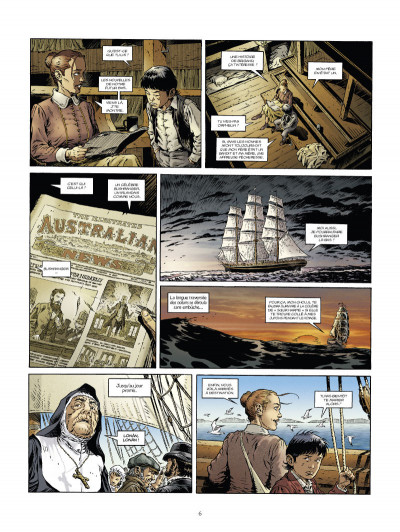 Page 4 down under tome 1 - l'homme de Kenzies's river