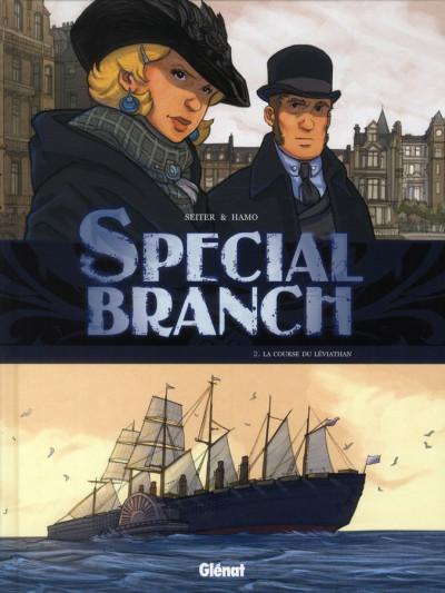 Couverture special branch tome 2 - la course du Léviathan