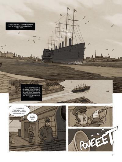 Page 1 special branch tome 2 - la course du Léviathan