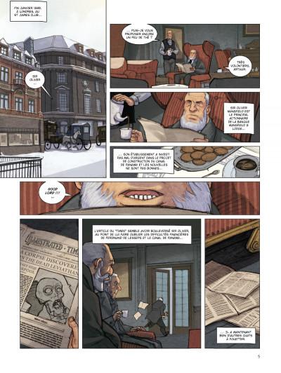 Page 3 special branch tome 2 - la course du Léviathan