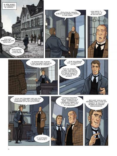 Page 4 special branch tome 2 - la course du Léviathan
